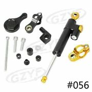 Steering Damper With Mount Bracket Cnc Aluminum Fit Yamaha Yzf R1/r6 2006-2015