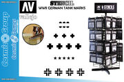 Vallejo Stencil Stafv001 Wwii German Tank Marks Accessories For Modeling