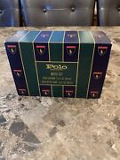 Vintage Polo Cologne And Aftershave Set 1.5 Oz Green Bottles Gift Box
