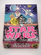 Original 1977 Topps Star Wars Series 3 Complete Wax Box Bbce Certified Authentic