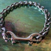 Stainless Steel Twisted Chain Necklace | Heavy Duty Chunky Punk Goth Grunge