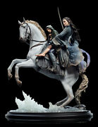 Weta Lotr Arwen And Frodo On Asfaloth 1/6 St Statue