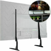 Universal Table Top Tv Stand Adjustable Bracket Legs Large Flat Screen Lcd Led