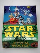 Original 1978 Topps Star Wars Series 4 Complete Wax Box Bbce Certified Authentic
