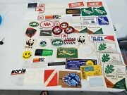 Original Vintage Racing Nra Corvette K And N Nos Conservation Stickers Patches