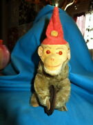Rare Antique Windup Monkey -schuco Playing Cymbals