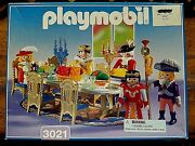 Playmobil 3021 Royal Feast Banquet And Figures Set - New Old Stock - Nib