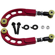 Front Bolt Black + Rear Camber Arm Kit Alignment Red Fit Scion Tc 2005-2010