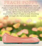 Sold Out Limited Edition Tieks Peach Poppy Size 11