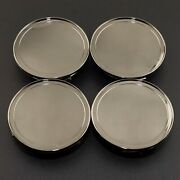 4 Piece 2.83in Wheel Center Hub Cap Fits C B S A E Glk Slk R Glc G Ml Class S300