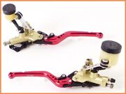 2002 Monster S4 Ms4 Brembo Separate Tank Front Brake And Clutch Master Set Yyy