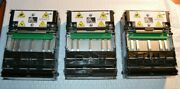 3 Ct - Zebra Kr403 Thermal Printers - Parts Only