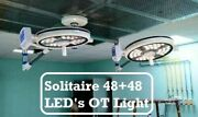 Double Satellite Operation Theater Operating Lamp Dual Color Solitaire 48 + 48