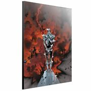 Semic Silver Surfer By Placing Layla At Wood Panel M Poster