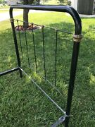 Antique Cast Iron Bed Frame Victorian Style Full Sizelocal Pick Up Only