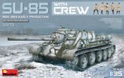 Miniart 35178 Model Su-85 Soviet Spg Mod 1943 With Crew Early Production 135