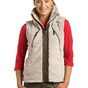 Kuhl Womenand039s Hooded Flight Vest Stone Color - Brand New W/ Tags Attached