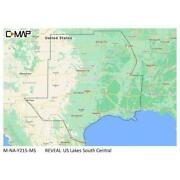 C-map Reveal Inland Us Lakes South Central M-na-y215-ms