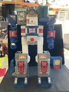 G1 Transformers Fortress Maximus 1987 With Box Miss Weapons