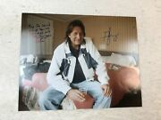 George Jung Blow Signed Autographed 16x20 Photo Johnny Depp Rare With Proof 2