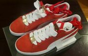50th Anniversary Suede Classic Bboy Fabulous Red/white Men Us 9.5 Eur 42.5