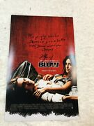 George Jung Blow Signed Autographed 11x17 Movie Poster Johnny Depp Proof Rare 2