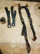 1966 Ford Mustang Blue Seat Belts
