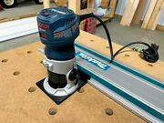 Bosch Router Adapter For Makita Track Saw Guide Rails - Colt 1.25hp Gkf125cen