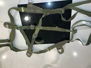 Pilot Ejection Seat Efa Type 21 Parachute Harness / Harness Only Tap 69 Mtb 720
