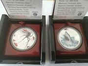 Tuvaluset 2006 Redback Spider And 2007 Shark Deadly And Dangerous 2 X 1 Oz Ag