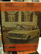 1967-workshop Manual For British Auto -leyland 1100 And 1300 Factory Edited Manual