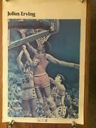 1977 Julius Erving Dr. J Sixers Poster Si Sports Illustrated Studio One