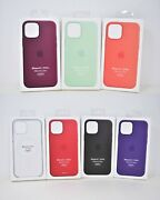 Apple Silicone Or Hard Case W/ Magsafe For Iphone 12 And Iphone 12 Pro 6.1 New