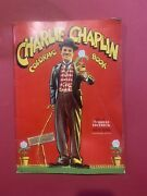 Charlie Chaplin Coloring Book Saalfield Pub. Co. 1941 Famous Movies Shown.