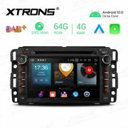 7 Inch Android 10.0 Octa-core 64g Rom + 4g Ram Car Multimedia Gps Dvd Player