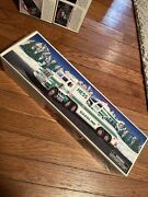 1995 Hess Toy Truck And Helicopter Vehicle Mint Unopened In Original Box
