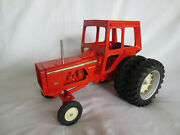 Scale Models 1/16 Allis Chalmers One-ninety 190 Xt Cab Duals Farm Toy Tractor