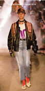 Leather Biker Jacket- With Tags- Rrp3,500 Aud