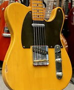 Fender Usa American Vintage And03952 Telecaster Butterscotch Blonde 1990 Used
