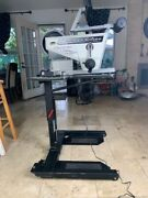 Arm Cycle -ergometer W/ Wheelchair Table And Computer Display—slightly Used