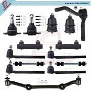 Complete 14 Tie Rod Ball Joint Suspension Kit For Chevrolet S10 Gmc Jimmy Sonoma