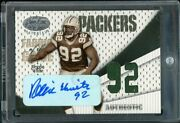 2004 Leaf Certified Reggie White Fabric Of The Game Jersey Auto /92 Very Rare