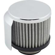 Speedway Valve Cover Shielded Breather Filter 1-3/8 Inch