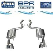 Corsa 304 Ss Axle-back Exhaust System Quad Rear Exit For Mustang 18-19 21039