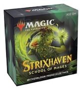 Strixhaven School Of Mages - Prerelease Pack [witherbloom]