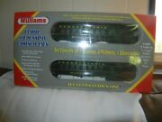 Williams - O Scale - 60' Classic Madison Style Passenger Cars  605 Prr Green