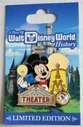 Piece Of Disney World History Town Square Theater Mickey Mouse Pin Le 1500