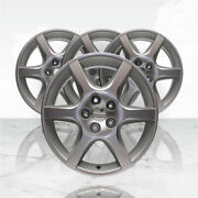 17 Silver Rim By Jte Wheels For 2002-2004 Nissan Altima 17x7
