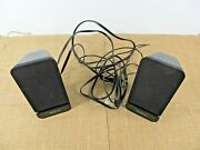 Creative Computer Speakers Sbs A60 2.0 Portable Stereo Sound System Pc Laptop