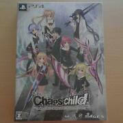 Ps4 - Chaoschild Limited Edition Chaos Child - Jpn Import New